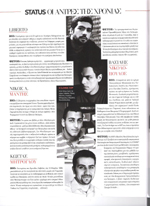 Men of the Year 2007 from STATUS Magazine (November 2007)